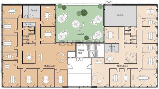 Bauteil 2, Erdgeschoss