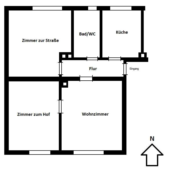 Schöne 3-Zimmer-Wohnung in Nähe Rosenheim in