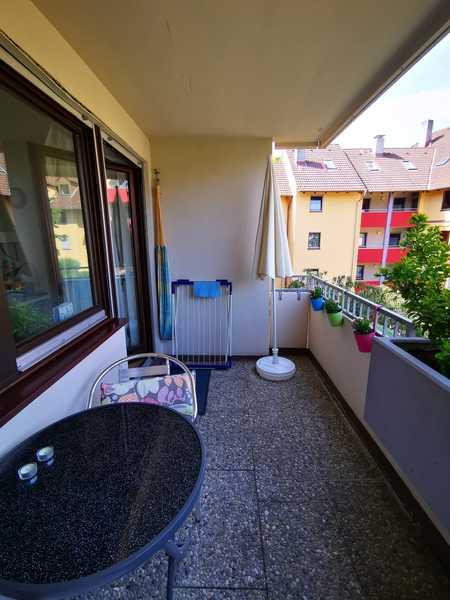 Schöne gepflegte, 1-ZW mit Balkon in Erlangen UNI-Nähe, absolut ruhig gelegen in Erlangen - Zentrum (Erlangen)