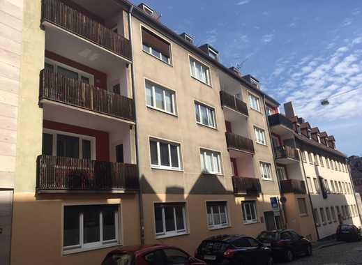 Tolle 3 Zi.-Wohnung mit Balkon in der Nürnberger Altstadt