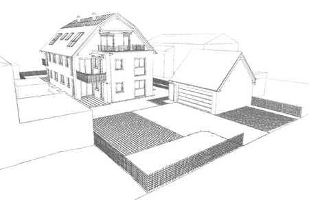 NEUBAU: 3 oder 4 Zi. OG-Wohnung, 99,8m² im Energiesparhaus, li in Germering (Fürstenfeldbruck)