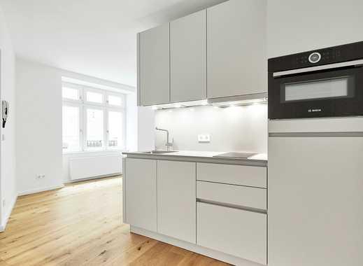Modernisierte Wohnung mit Einbauküche, Duschbad und Parkett