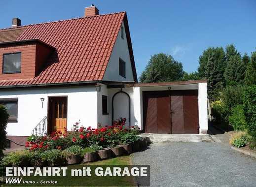 Doppelhaushälfte mit tollen Grundstück in ruhiger zentraler Lage