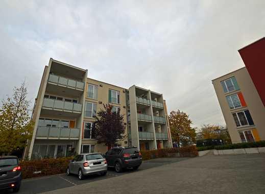 Zentral, im Grünen gelegene 1,5 - Zimmer Wohnung mit Balkon - WBS zwingend erforderlich!