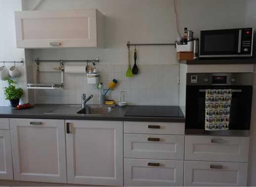 2 Zimmer Wohnung im DG in der Altstadt von Nordhausen mit Einbauküche, Parkett