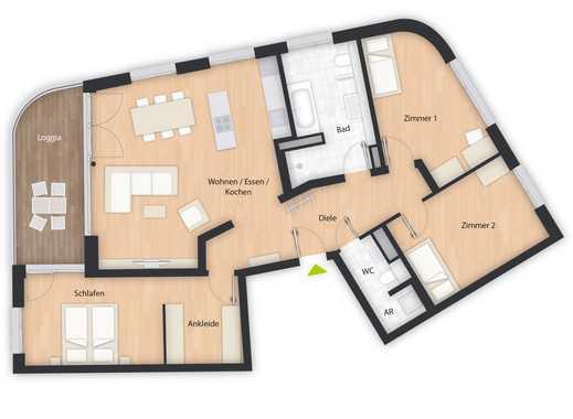 4-Zimmer-Wohnung mit Loggia in Forchheim