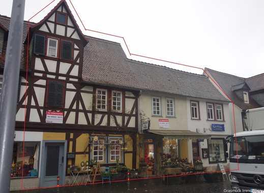 Attraktives Wohn- und Geschäftshaus mit Garten in Büdingens Vorstadt - Anschauen lohnt sich!