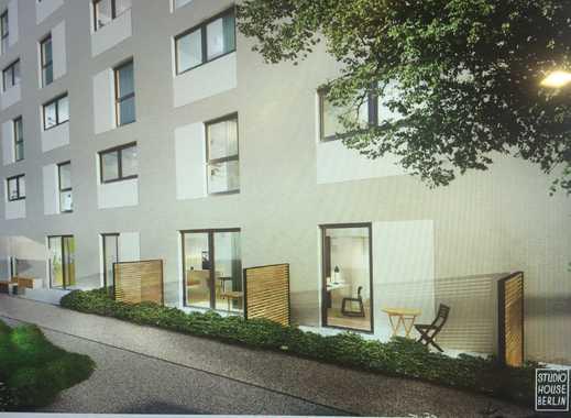 Berlin-Mitte, möbilierte 1-Zi-Wohnung mit Terrasse für Studenten/Azubis/etc.