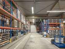 Top Logistik- und Lagerfläche inklusive Regalierung