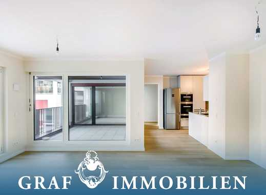 Exklusives Wohnhighlight - ca. 10 m² gr. West-Loggia - 2 Bäder - Au-Haidhausen