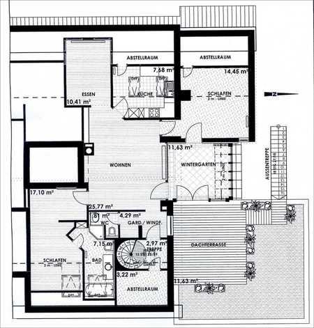 Attraktive 3- Zimmerwohnung in schöner Wohnlage in Deggendorf