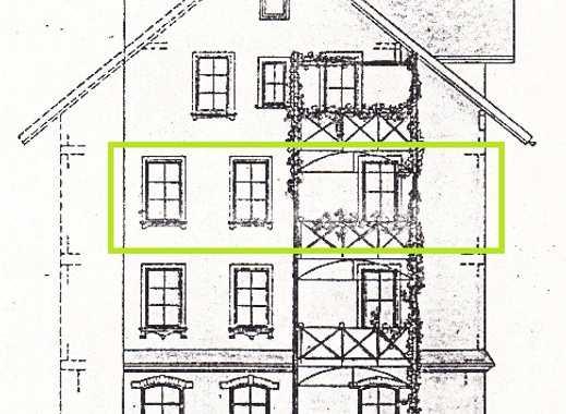 3-Zimmer-Wohnung mit Balkon und Einbauküche