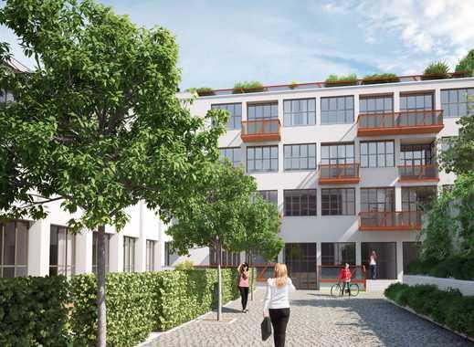 Flingern: 4-Zimmer-Erdgeschoss/Souterrain-Wohnung im Innenhof
