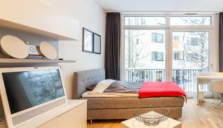 Exklusive, voll ausgestattete 1,5-Zimmer-Wohnung in Bogenhausen, München in Bogenhausen (München)