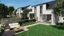 Quadratischer Zuschnitt - DHH mit Garten