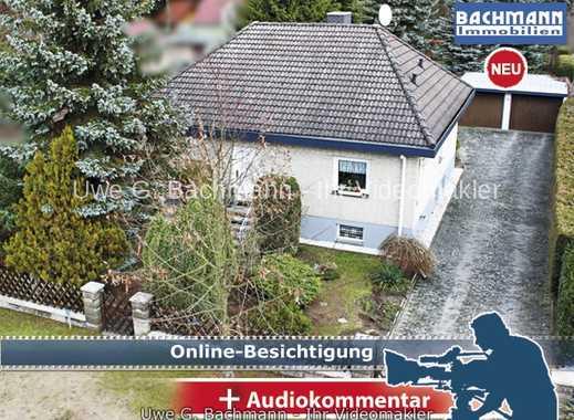 Eggersdorf: Einfamilienhaus in grüner Wohngegend mit Baulandreserve - UWE G. BACHMANN
