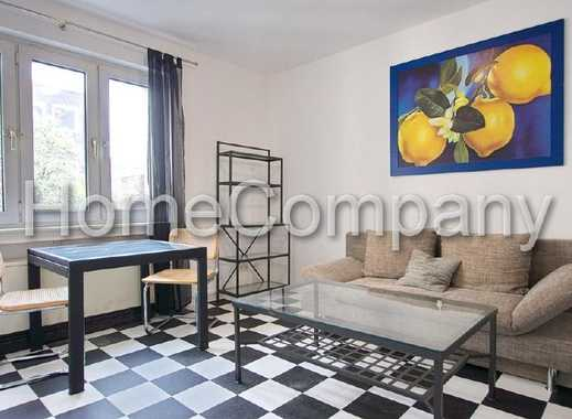 Helle Wohnung mit kompletter Möblierung und Ausstattung, zentral und ruhig, Laufnähe zum Hauptbah...