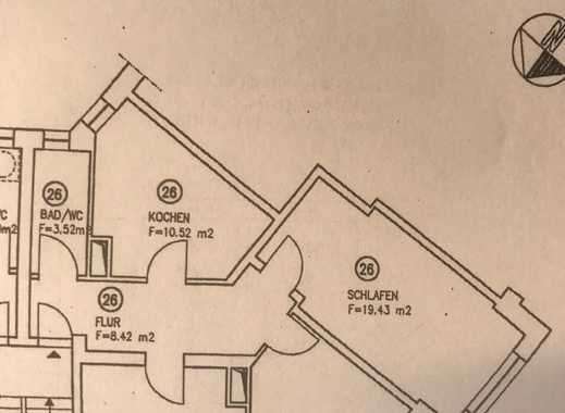 Ruhig gelegene und frisch sanierte Wohnung im Hochparterre! Bezugsfertig ab 01.12. und WG geeignet!!