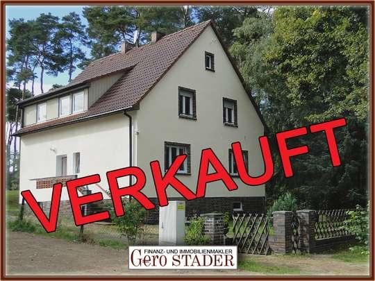 Freistehendes 2-Familienhaus in Wandlitz mit Ausbaumöglichkeiten - Bild 1
