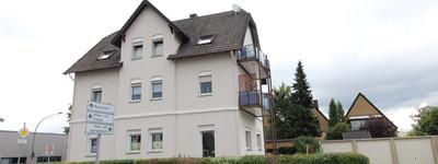 Gepflegte 3-Zimmer-Erdgeschosswohnung mit Terrasse in Rahden