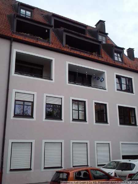 3 Zimmerwohnung mit Balkon in Memmingen-Innenstadt