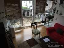 Gemütliche Galerie Wohnung EBK Balkon