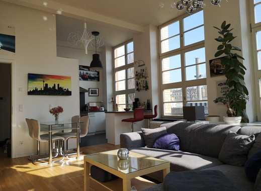 Hochwertige 2-Zimmer-Loft-Wohnung teilmöbliert mit EBK in Pankow