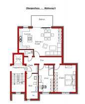 Neubauwohnung mit hochwertiger Ausstattung z