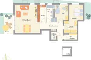 3.5 Zimmer Wohnung in Ludwigsburg (Kreis)