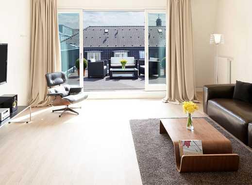 Großes, helles Penthouse im Zentrum von Düsseldorf