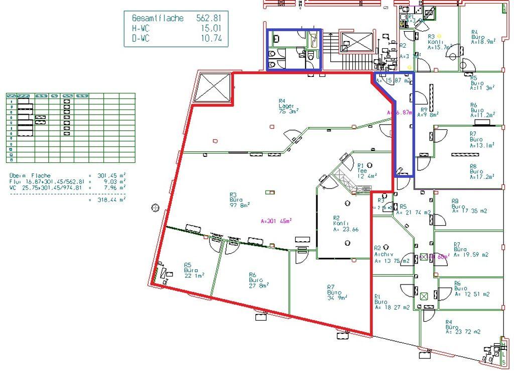 Grevenweg 72 5. OG ca. 320 m²