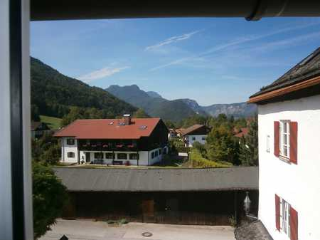 Wohnen in einem ehemaligen Schloss in Bayerisch Gmain