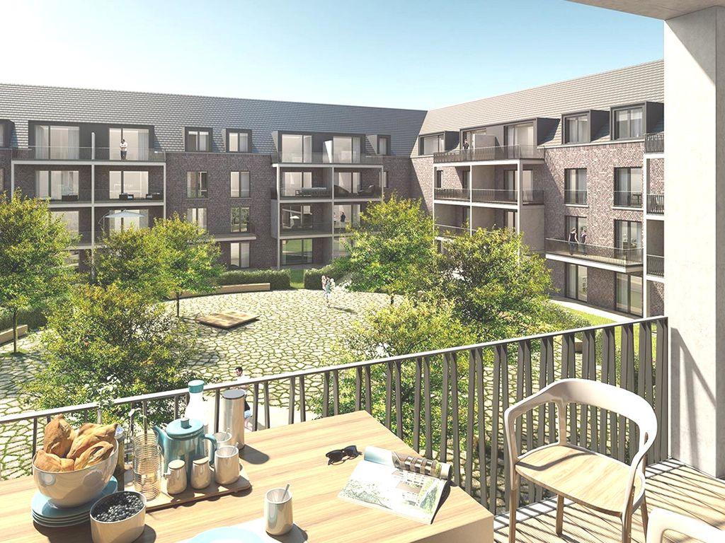 Neubau: Innenhof