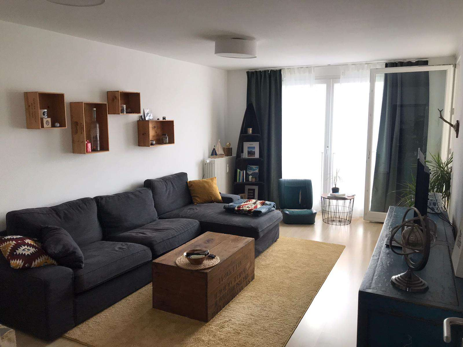 In Zentrums- und Bahnhofsnähe: Schöne 3 ZKB Wohnung in