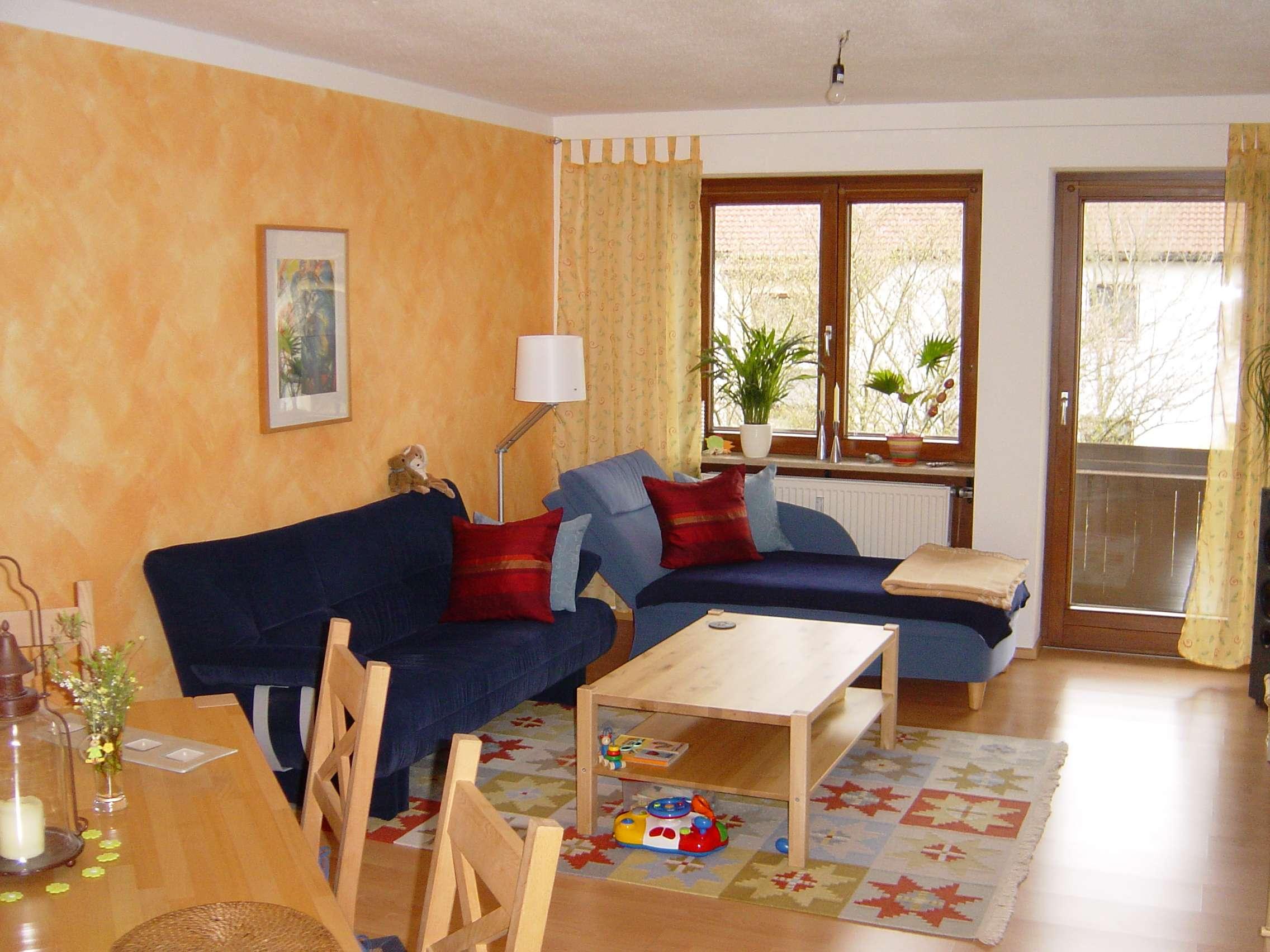 --Reserviert-- Schöne, gepflegte 3-Zimmer-Wohnung mit Südbalkon in Poing-Süd in Poing