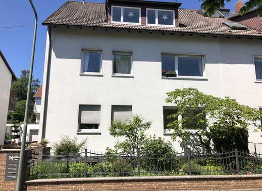 Erstbezug nach Sanierung mit Einbauküche: schöne 2-Zimmer-EG-Wohnung in Frankfurt am Main