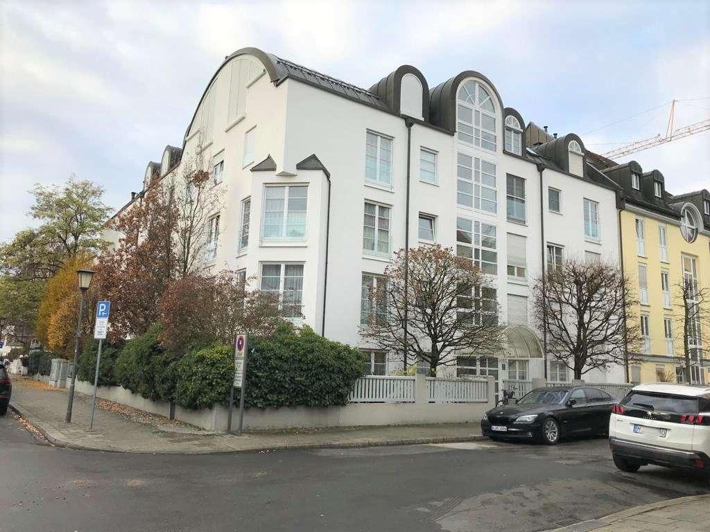 Ruhige, sonnige und gepflegte 2-Zimmer-Wohnung mit Balkon und Einbauküche in München - Schwabing in Schwabing (München)