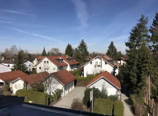 Erstbezug mit Einbauküche und Dachterasse 2-Zimmer-DG-Wohnung in Ottobrunn (Nr. 2.6)