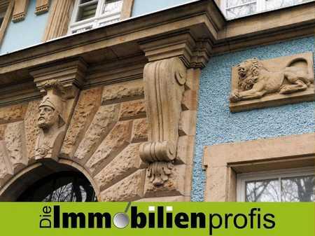 2-Zimmer-Wohnung mit Stellplatz in saniertem Altbau im Jugendstilviertel von Hof in Hof-Innenstadt