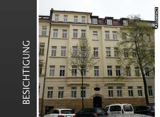 Helle 2 Zimmer Wohnung mit EBK, Balkon und Eckbadewanne in Leipzig-Gohlis