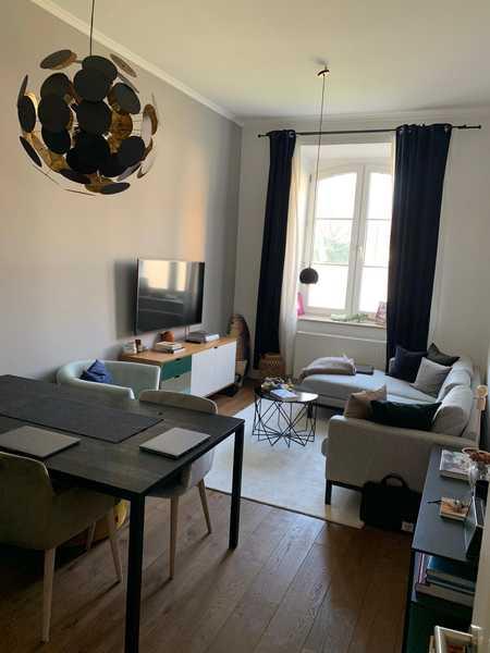 Stylische 2- Zimmer-Altbauwohnung modern möbliert - Mitten im Westend in Schwanthalerhöhe (München)