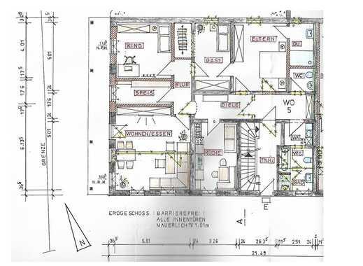 Großzügige barrierefreie 5-Zimmer-Erdgeschoß-Neubauwohnung im Zentrum von Marktl