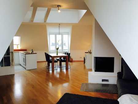 Design-Penthouse im Szeneviertel Glockenbach  in Ludwigsvorstadt-Isarvorstadt (München)