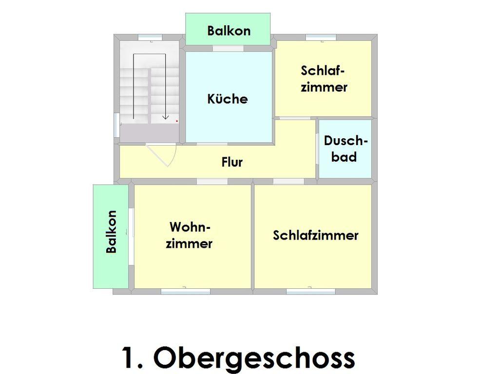pflegeleichte und gem tliche wohnung mit zwei balkonen. Black Bedroom Furniture Sets. Home Design Ideas