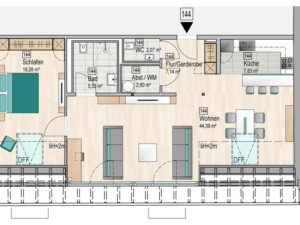 Amazing Grundriss Wohnung 144