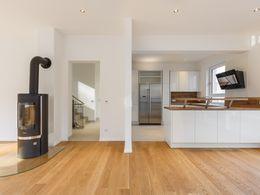 Blick in Küche