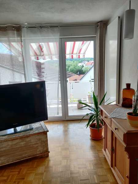 Sanierte 2-Raum-Wohnung mit Balkon und Einbauküche in Hösbach in Hösbach