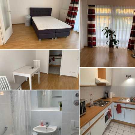 Geschmackvolle und geräumige 1-Zimmer-Wohnung mit Balkon und EBK in Bogenhausen, München in Bogenhausen (München)
