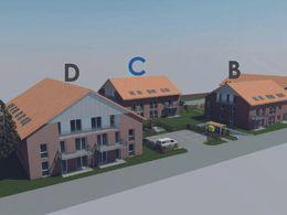 3D Geländeübersicht - Haus C