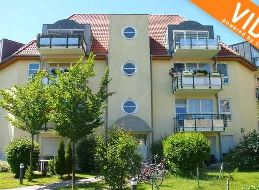 Schöne Wohnung in idyllischer Grünlage - Westbalkon